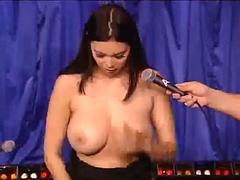Tera Patrick Rides Sybian On Howard Stern