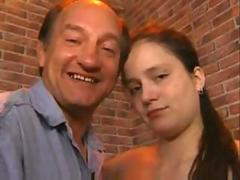 German girlfriend Taboo sex with Old Neighbour from germany