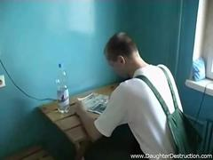 Horny dude ravages a delivery girl