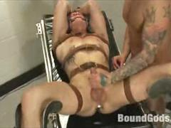 BDSM Master Plays Doctor with his Slave on the Gyno Chair