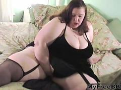 Sexy Ssbbw Plays And Tit Fucks A Big White Dong BBW fat bbbw sbbw bbws bbw porn plumper fluffy cumsh