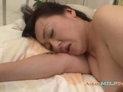 Fat Jap Milf Getting Her Mouth And Hairy Pussy Fucked