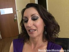 Big breasted milf banged in a hotel room