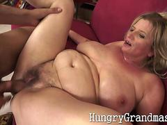 Tit fucked horny mature lady up her beaver