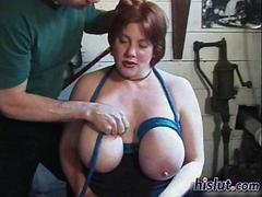 Big ripe ladies love rope bondage