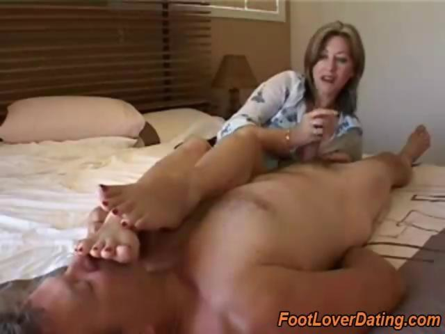 Mature Women Feet Tickled