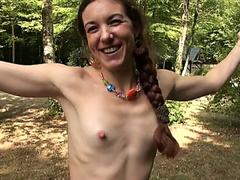 French Milf Margot anal fucked by huge black cock