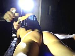 Girl in a hogtie fucked simply