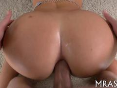 that amazing bubble butt getting fucked real hard
