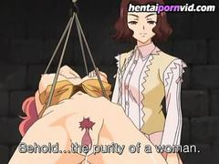 Hentai schoolgirl get their fuck on for the first time