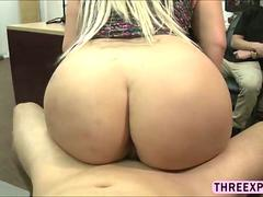 Horny huge ass Nina Kay moans loud whole get fucked in doggystyle