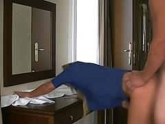 Fucking The New Secretary During Lunchbreak In A Hotel