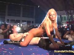 busty stepmoms first sex show on stage