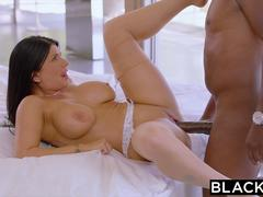 BLACKED Romi Rain Meets Mandingo