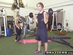 Brazzers - Big Tits In Sports - Cali Carter and Mick Blue -  Calis Special Workout