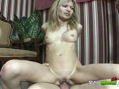 Attractive mature blonde is a luxury slut who rides handicapped men for extra cash