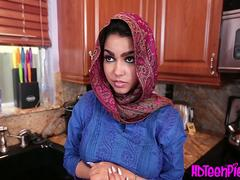 Creampie wanting arab teen