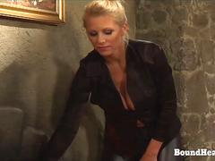 On Consignment 3 Young Blonde Slave On Her Submissive Training