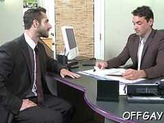 intense office gay sex anal video 2
