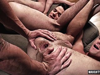 Giant dick homosexual flip flop and facial