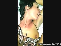 Cheating wife getting fucked hard by a bbc and exposed