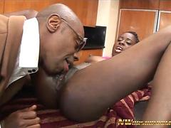 NWORSHIP Young Black Girl Tiny Star with Wet Creamy Pussy