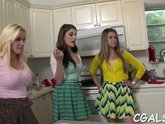lusty audition for babes teen clip 9