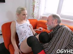 lustful old guy fucks  angel film video 1