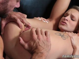 Step dad sleeps with mom and playmate companions daughter   associates brother anal