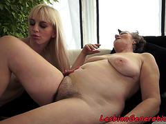 Hairy gilf gets rimmed and pussylicked