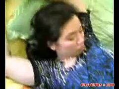 malay-laki bini romen milf making love with husband