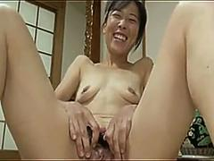 japanese granny has finger fun segment