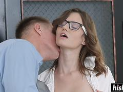 Sexy Sofy moans while she bangs