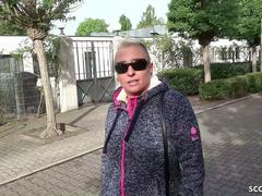 GERMAN SCOUT - MOM MANDY SEDUCE TO ANAL FUCK AT STREET CASTING IN GERMANY