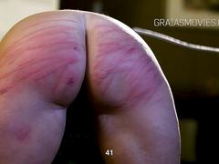 Thick slave girl receives unusually harsh punishment