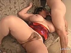 Big Boobs BBW Wife Fucked
