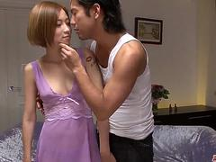 Rough sex to crack down Ena Ouka shaved Asian pussy - More at Japanesemamas.com