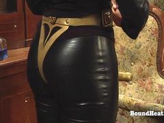The Education of Erica Lesbian Slaves Dominated With Big Mistress Strapon