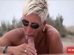 nude beach - hot public sex segment