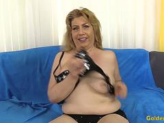 Charming Granny Penny Sue Gets Drilled Hard by a Long Dick