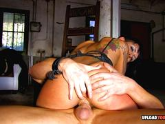 Picked up babe gets a pounding without mercy