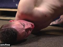 Dane Stewart with Kyler Ash at The Fuck Room