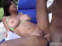 Sex arab massage and indonesian maid My first Creampie