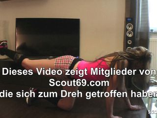 Perv Dad Seduce Step Daughter to Fuck at Sport - German Teen