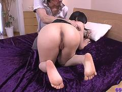 Japan threesome with Yui Kyouno during insane xxx - More at 69avs.com