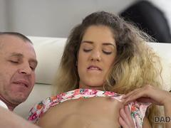 DADDY4K. Brilliant girl Monique Woods has passionate sex with older man