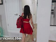 Reality Kings Teens love Huge COCKS Aria Lee Home From College