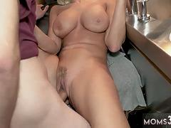 Mom taboo english dub and amateur milf anal He begs her not to tell his father about his