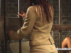 The Education of Adela Lesbian Slave In Prison Sniffing Mistresses Panties And Orgasming Hard