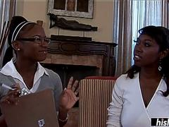 Delotta Brown shares a BBC with her friend